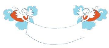 Lächelnde Engel Lizenzfreies Stockbild