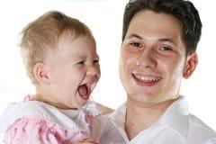 Lächelnde Familie Lizenzfreie Stockbilder