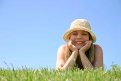 Lächelnde Frau Lizenzfreie Stockfotografie