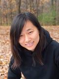 Lächelnde Frau lizenzfreie stockfotos