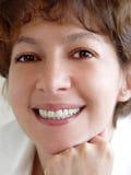 Lächelnde Frau Lizenzfreie Stockbilder