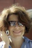 Lächelnde Frau. Lizenzfreies Stockfoto