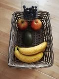Lächelnde Frucht stockfotografie