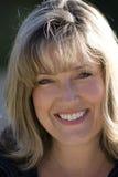Lächelnde Fußball-Mamma Lizenzfreies Stockfoto
