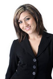 Lächelnde Geschäftsfrau Lizenzfreies Stockbild