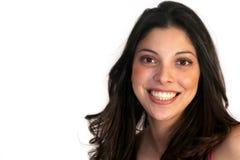 Lächelnde hispanische Schönheit Lizenzfreie Stockbilder