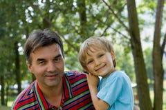 Lächelnde Jungen Lizenzfreies Stockfoto