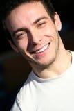 Lächelnde Jungen-Weiß-Zähne Lizenzfreies Stockbild