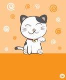 Lächelnde Katze Stockfotos