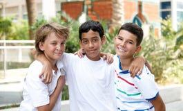 Lächelnde Kinder. Lizenzfreies Stockbild