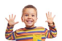 Lächelnde kleine Kinder Stockfotografie
