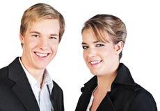 Lächelnde Leute Stockfotografie