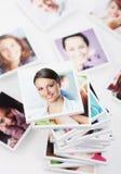 Lächelnde Leute Lizenzfreies Stockfoto