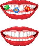 Lächelnde Lippe vektor abbildung
