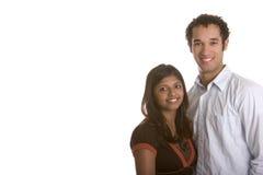 Lächelnde Paare Stockbilder