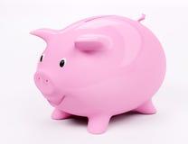 Lächelnde piggy Querneigung 3d lizenzfreie abbildung