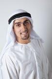 Lächelnder Araber Stockfotografie