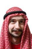 Lächelnder arabischer junger Mann Stockfoto