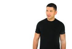 Lächelnder athletischer Mann Lizenzfreies Stockfoto