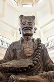 Lächelnder Buddha-Chinese-Gott Stockfotografie