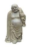 Lächelnder Buddha - chinesischer Gott des Glückes Stockfotos