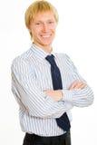 Lächelnder Chef Lizenzfreie Stockfotos