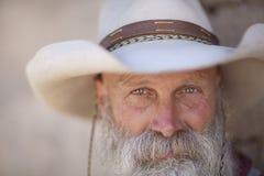 Lächelnder Cowboy Stockfotografie