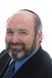 Lächelnder jüdischer Mann im Skullcap Lizenzfreies Stockbild