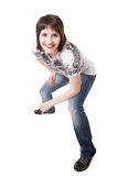Lächelnder Jugendlicher Lizenzfreie Stockfotografie