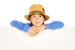 Lächelnder Junge Stockbild