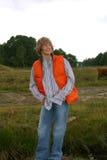 Lächelnder junger Junge Lizenzfreie Stockfotos
