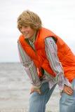 Lächelnder junger Junge Lizenzfreie Stockfotografie