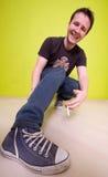 Lächelnder Kerl, Lizenzfreie Stockfotos