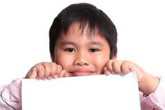 Lächelnder kleiner Junge Stockbilder