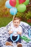 Lächelnder kleiner Junge Lizenzfreies Stockbild