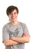 Lächelnder Mann Stockfotos