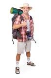 Lächelnder Tourist Lizenzfreie Stockfotografie