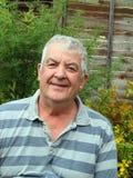 Lächelndes älteres Mannportrait. Lizenzfreies Stockfoto