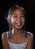 Lächelndes Asien-Mädchen Stockbilder