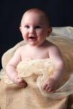 Lächelndes Baby Lizenzfreies Stockfoto