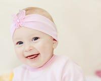 Lächelndes Baby Stockbilder