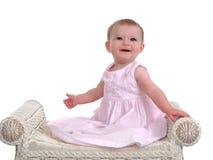 Lächelndes Baby Stockbild