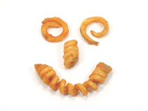 Lächelndes Gesicht der Twisterfeuer stockbilder