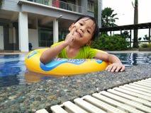 Lächelndes Gesicht von Kindern lizenzfreies stockfoto