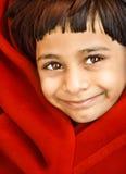 Lächelndes indisches Mädchen Lizenzfreies Stockbild