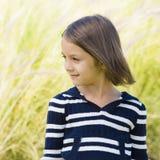 Lächelndes junges Mädchen stockbilder