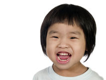 Lächelndes Kind Lizenzfreies Stockfoto