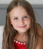 Lächelndes kleines Mädchen Lizenzfreies Stockbild