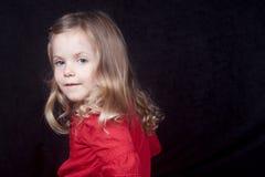 Lächelndes kleines Mädchen Stockfoto