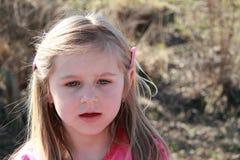 Lächelndes kleines Mädchen Stockbild